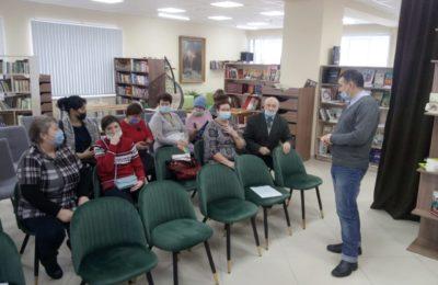 Встреча участников клуба пенсионеров «Третий возраст»