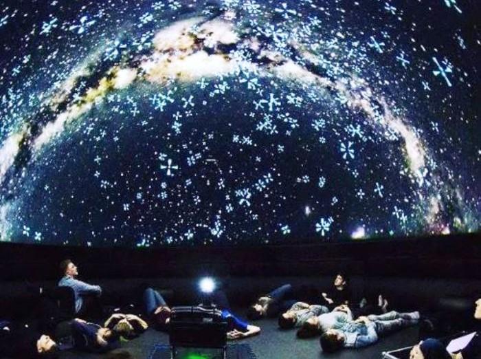 Планетарий «Космические миры и Гагарин» ко  Дню космонавтики,  к  60 — летию  со дня полёта Ю. А. Гагарина в космос