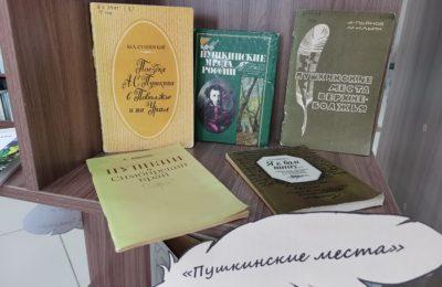 «Идут года, но Пушкин остается» — выставка — посвящение к Пушкинскому дню.